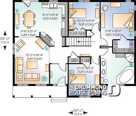 Im genes del plano de casa w2183 primer nivel - Fotos de planos de casas ...