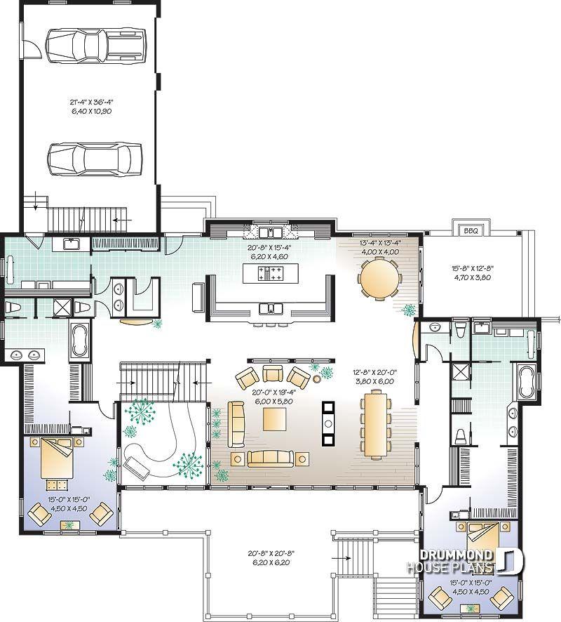 Im genes del plano de casa w3928 primer nivel - Fotos de planos de casas ...