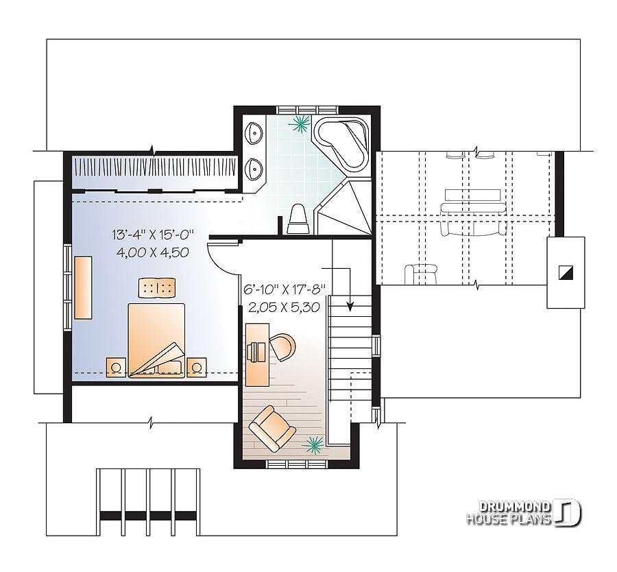 Im genes del plano de casa w3515 segundo nivel - Fotos de planos de casas ...