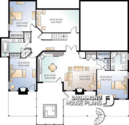planos de casas con sotano