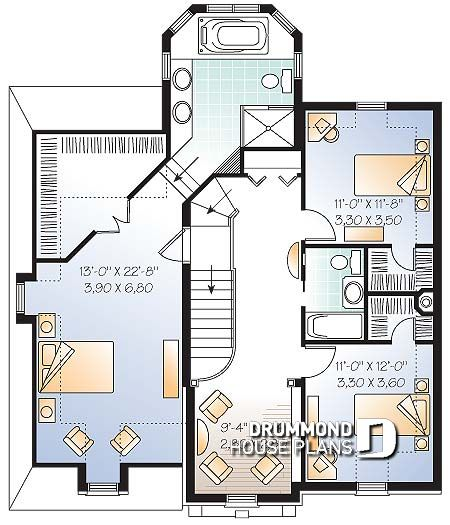 planos de casas 10 x 10 2 plantas