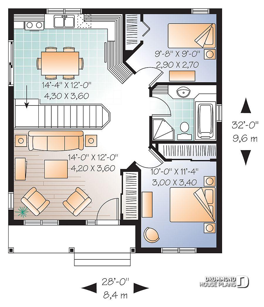 Im 225 Genes Del Plano De Casa W3113 Primer Nivel