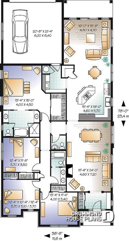 Vista de la imagen for Planos de casas de una habitacion